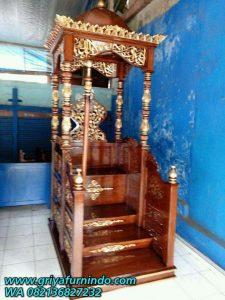 Mimbar Khutbah 225x300 - Mimbar Masjid Ukir Jepara