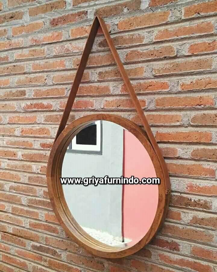 Round Mirror Jati
