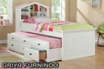 Tempat Tidur Anak Minimalis Double Bed