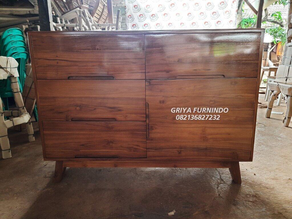 Storage Drawer Teak Wood