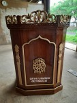 Podium Ukir Islami